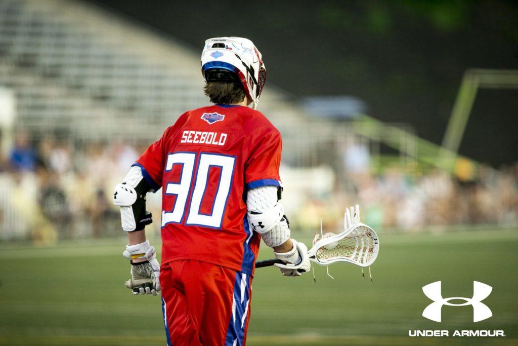 Owen Seebold Under Armour All-American Lacrosse