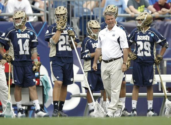 Kevin Corrigan Notre Dame Lacrosse